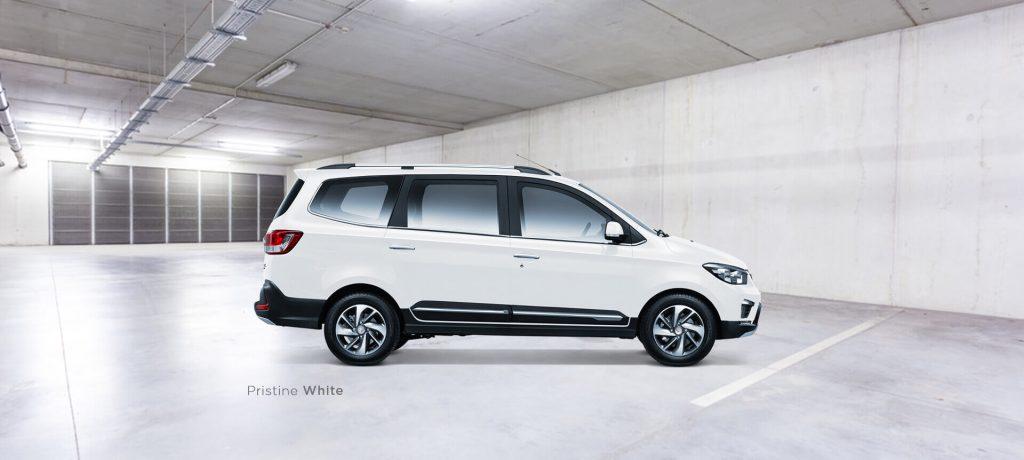 Warna Putih Mobil Wuling Confero S Baoujun Dealer Cicilan DP Murah Harga PAket Simulasi Kredit Angsuran Spesifikasi Interior Eksterior Pekanbaru Riau Brosur Daftar